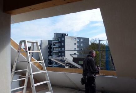dachfenster mit aufkeilrahmen eingebaut durch dachdecker. Black Bedroom Furniture Sets. Home Design Ideas