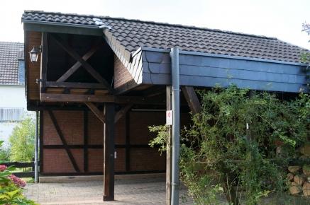 carport f r sie gebaut von dachdecker kantelberg. Black Bedroom Furniture Sets. Home Design Ideas