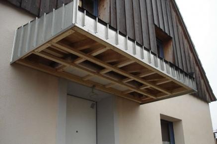 Vordach Beton vordach für sie gebaut dachdecker kantelberg