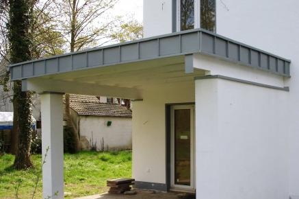 vordach f r sie gebaut von dachdecker kantelberg. Black Bedroom Furniture Sets. Home Design Ideas